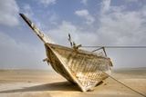 Abandoned Dhow on Beach; Ras Al Hadd  Oman
