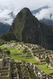The Historic Inca Site Machu Picchu; Peru