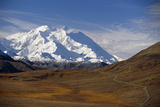 View of Mt Mckinley and Ak Range from Stony Hill W