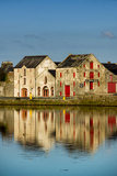 Town of Ramelton in County Donegal  Ireland