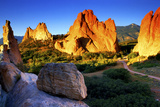 Sunrise at Garden of the Gods  Colorado
