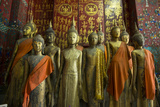 Bronze Statues Inside Wat Xieng Thong Monastery