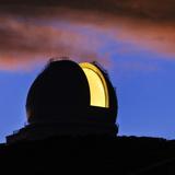 The William Herschel Telescope at Dawn