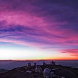Evening Twilight Begins over La Silla Observatory