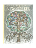 The New Yorker Cover - January 14  1991