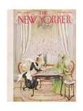 The New Yorker Cover - March 21  1959