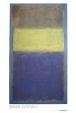 No. 2/No. 30  (Yellow Center) Reproduction d'art par Mark Rothko