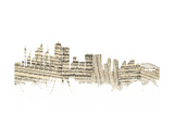 Sydney Australia Skyline Sheet Music Cityscape