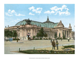 Vintage Paris Postcard - Le Grand Palais
