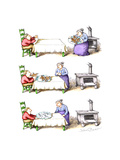 Gingerbread men - Cartoon