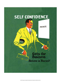 Vintage Business Self Confidence - Believe in Yourself