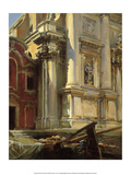 Corner of the Church of San Stae  Venice  1913
