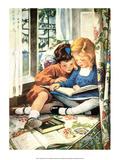 Meilleurs amis Reproduction d'art par Jessie Willcox Smith