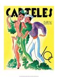 Carteles  Retro Cuban Magazine  Dancing Senorita