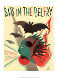 Vintage Music Sheet  Bats in the Belfry