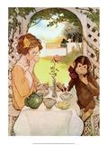 Tea with Monkey