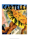Carteles  Retro Cuban Magazine  Orange Seller