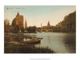 Vintage Postcard  Lac d'Amour  Bruges
