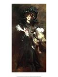 Portrait of Mille Lantelme  1907
