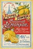 Eiffel Tower Concentrated Lemonade, 1900 Giclée par The Vintage Collection