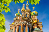 Church of the Savior on Spilled Blood in St Petersburg  Russia