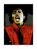 Michael Jackson - Thriller Giclée par Emily Gray