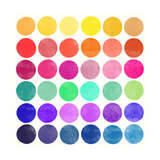 Colourplay 6 Giclée par Garima Dhawan