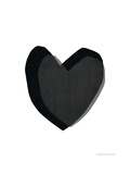 Black Heart Giclée par Seventy Tree
