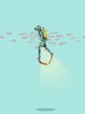 Sous la mer Giclée par Jason Ratliff