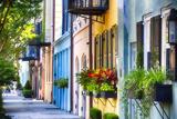 Rainbow Row I  Charleston South Carolina