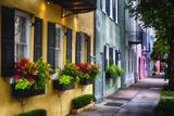 Rainbow Row II  Charleston South Carolina