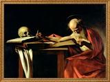 St Jerome Writing  circa 1604
