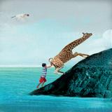 Life Can Be Tricky Reproduction d'art par Nancy Tillman
