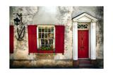 Charleston Red Door And Shutters
