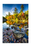 Swift River Autumn Reflections  New Hampshire