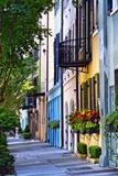Rainbow Row III Charleston  South Carolina