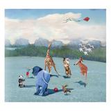 La danse Reproduction d'art par Nancy Tillman