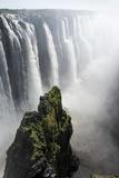 Zambezi River at Victoria Falls  Zimbabwe