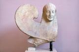 Ancient Greek Sphinx Sculpture
