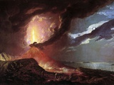Vesuvius in Eruption  1776 by Joseph Wright of Derby