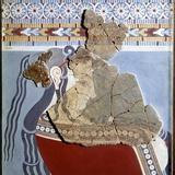 Mycenaean Art : Bust of a Woman