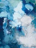 Blue Flo Reproduction d'art par Randy Hibberd