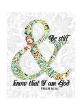 Be Still Psalm 46 10