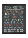 Faith Family Rules