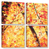 The Last Days  4 Piece Gallery-Wrapped Canvas Square Set