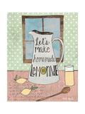 Limonade Reproduction d'art par Katie Doucette