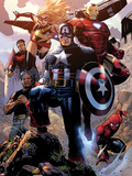 Avengers: The Childrens Crusade No4: Captain America  Ms Marvel  Iron Man  Spider-Man and Others