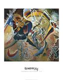Improvisation 35 Reproduction d'art par Wassily Kandinsky