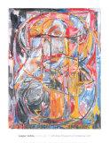 Figure 0 à 9, 1961 Reproduction d'art par Jasper Johns