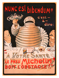 Le Pneu Michelin  Nunc Est Bibendum